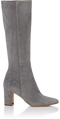 Manolo Blahnik Women's Pita Suede Knee Boots