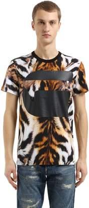 G Star Mostom Animalier Print Jersey T-Shirt