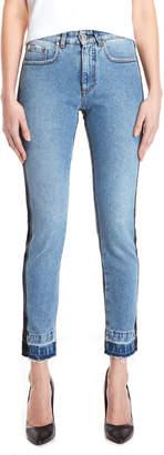 MSGM Side Stripe Skinny Jeans