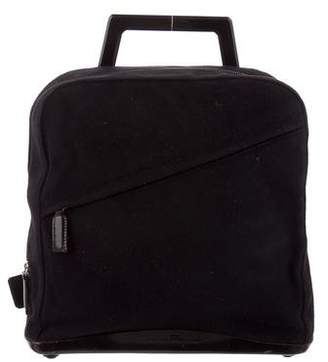 Salvatore Ferragamo Suede Single Strap Backpack