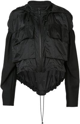 Vera Wang draped windbreaker $1,550 thestylecure.com