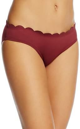 Kate Spade Scalloped Hipster Bikini Bottom