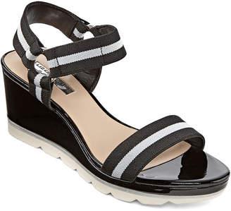 Liz Claiborne Womens Vanberg Flat Sandals
