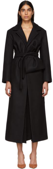 Black Le Manteau Aissa Coat