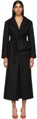 Jacquemus Black Le Manteau Aissa Coat