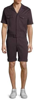 Trina Turk Men's Mark Striped Jumpsuit
