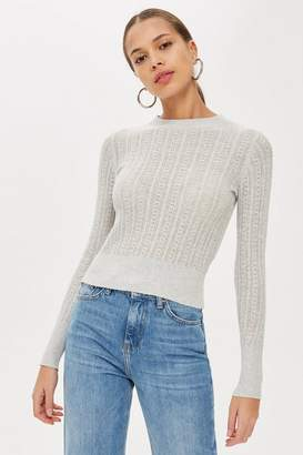 Topshop Crew Neck Jumper