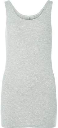 Dorothy Perkins Womens *Only Grey and White Spotted Tank Top