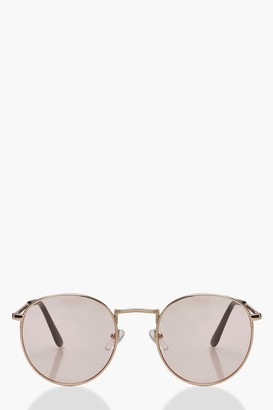 boohoo Pastel Lens Retro Sunglasses