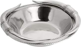 Arthur Court Longhorn Salad Bowl