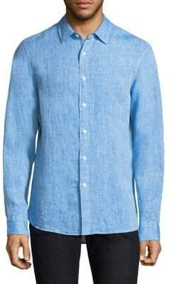 Michael Kors Crossdye Linen Shirt