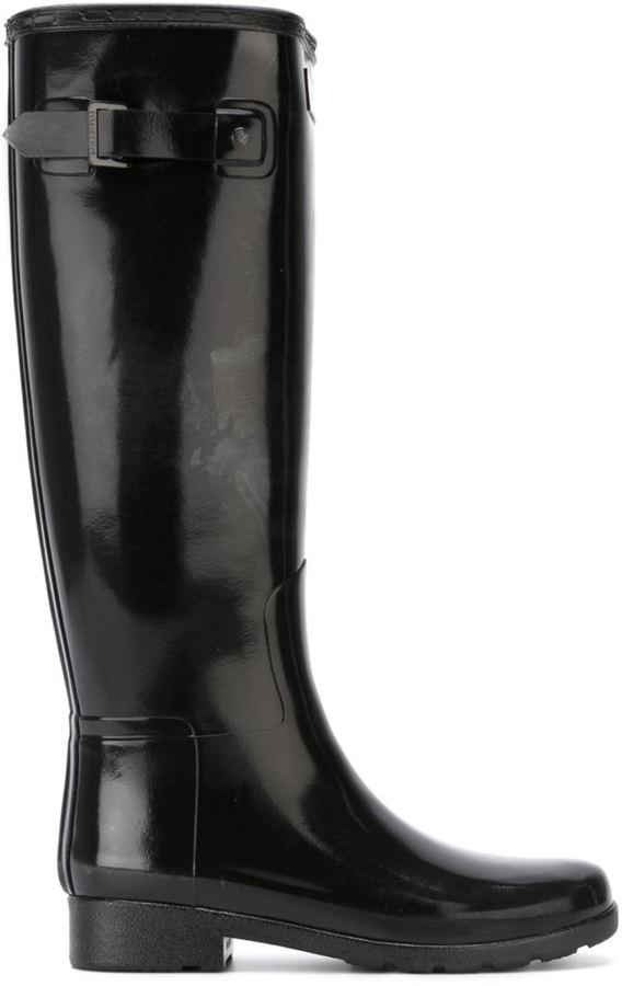 HunterHunter buckle wellington boots
