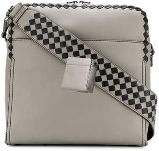 Bottega Veneta woven messenger bag