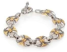 Konstantino Hebe 18K Yellow Gold& Sterling Silver Bracelet