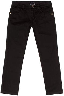 Versace Straight cotton jeans