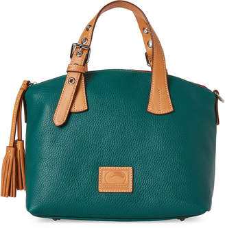 Dooney & Bourke Leaf Patterson Trina Leather Satchel