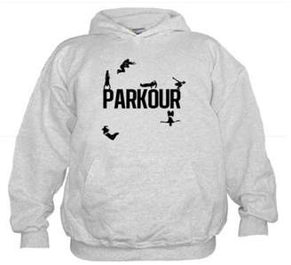 54cfc816f71 CafePress - Parkour Compilation - Kids Hooded Sweatshirt