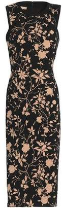 Michael Kors Floral-Print Wool-Blend Dress