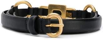 Just Cavalli gold padlock belt