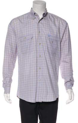 Façonnable Patterned Casual Shirt