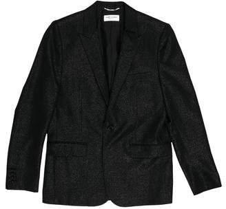 Saint Laurent Wool Single-Button Blazer