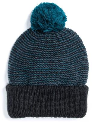 Muk Luks Men's Pom Pom Hat