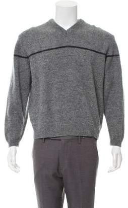 5e5e7d2f9 Burberry Golf Striped Merino Wool Sweater