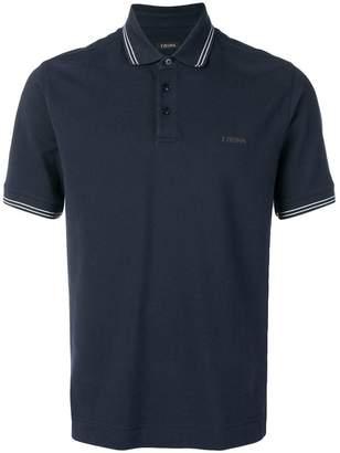 Ermenegildo Zegna chest logo polo shirt