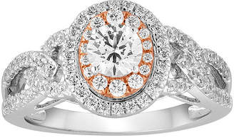 MODERN BRIDE I Said Yes 1 CT. T.W. Diamond 10K Two-Tone Gold Engagement Ring
