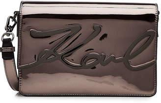 Karl Lagerfeld Patent Shoulder Bag