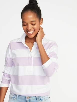Old Navy Rugby-Stripe Polo for Women