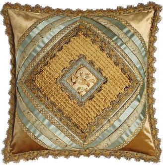 "Sweet Dreams Palazzo Como Diamond-Center Pillow, 20""Sq."