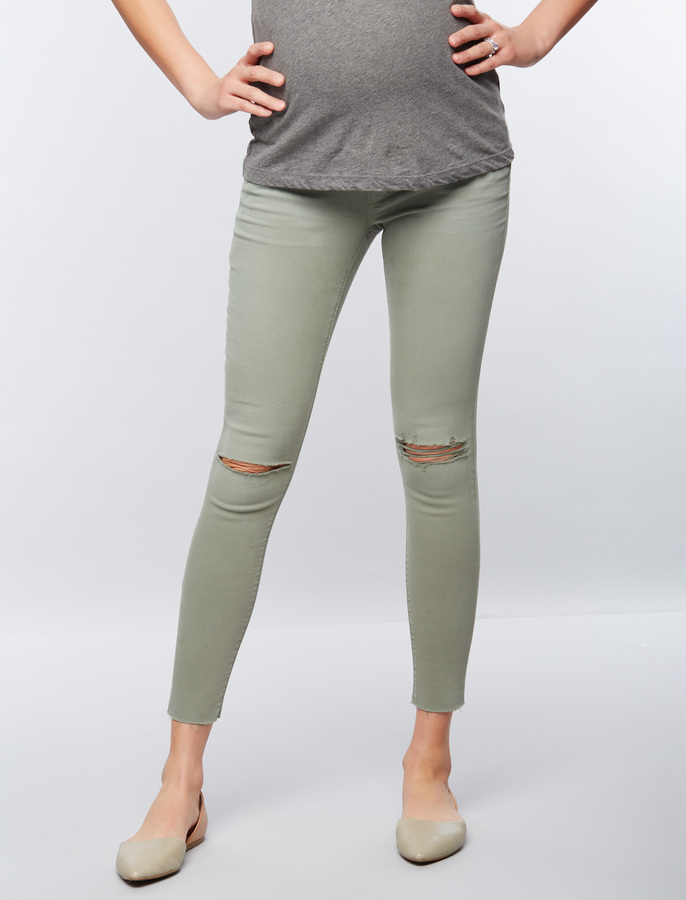 A Pea In The PodJoes Secret Fit Belly Skinny Ankle Maternity Jeans