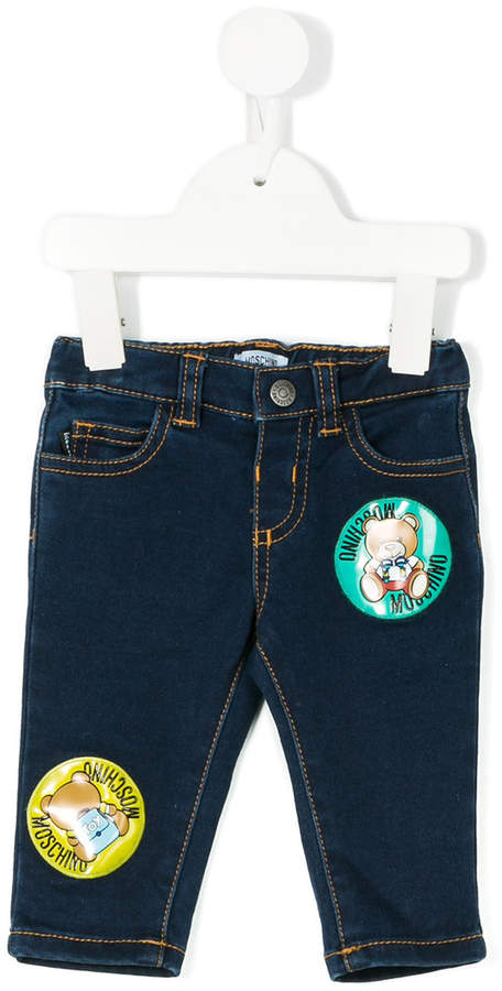 Moschino Kids Jeans mit Patches