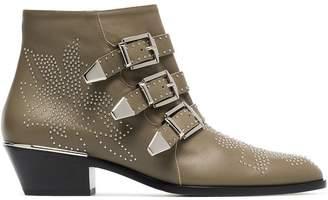 Chloé Susanna 30 Studded Ankle Boots