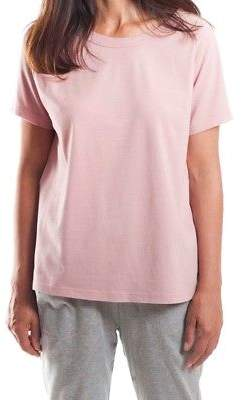 NEW Raglan Sleeve Scoop Back Tee in Rose Women's by Miles From