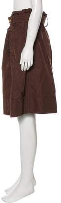 Marc Jacobs Belted Knee-Length Skirt