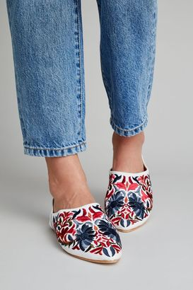 Jeffrey Campbell Sonia Embroidered Mules