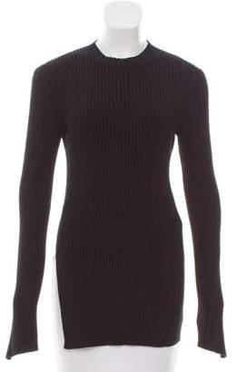 Celine Rib Knit Cutout Sweater