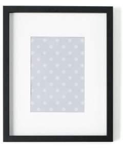 Camilla And Marc Portland Picture Frame 24 x 30 cm Black w White Mount