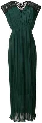 P.A.R.O.S.H. pleated long dress