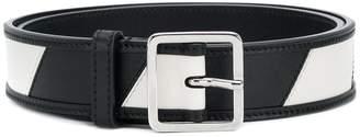 Calvin Klein striped belt