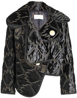 Peter Pilotto Velvet Jacket with Contrast Thread