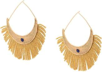 Aurelie Bidermann fringe detail earrings