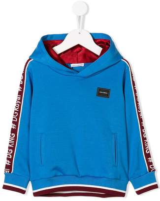 Dolce & Gabbana logo embellished hoodiea