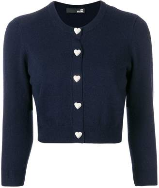 Love Moschino perfectly fitted cardigan