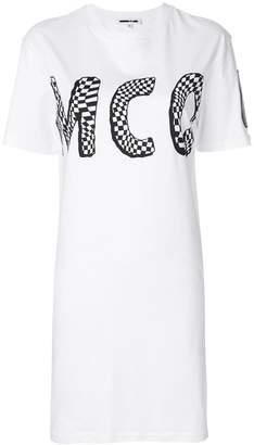 McQ logo print T-shirt dress