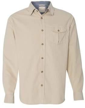 Weatherproof Vintage Mini Cord Long Sleeve Shirt 154867 XL