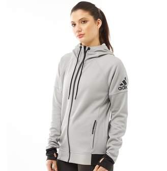 2375121a2fbd adidas Womens Infinite Series Daybreaker Hoodie MGH Solid Grey