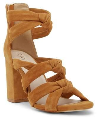 Raye Nadia Knotted Block Heel Sandal